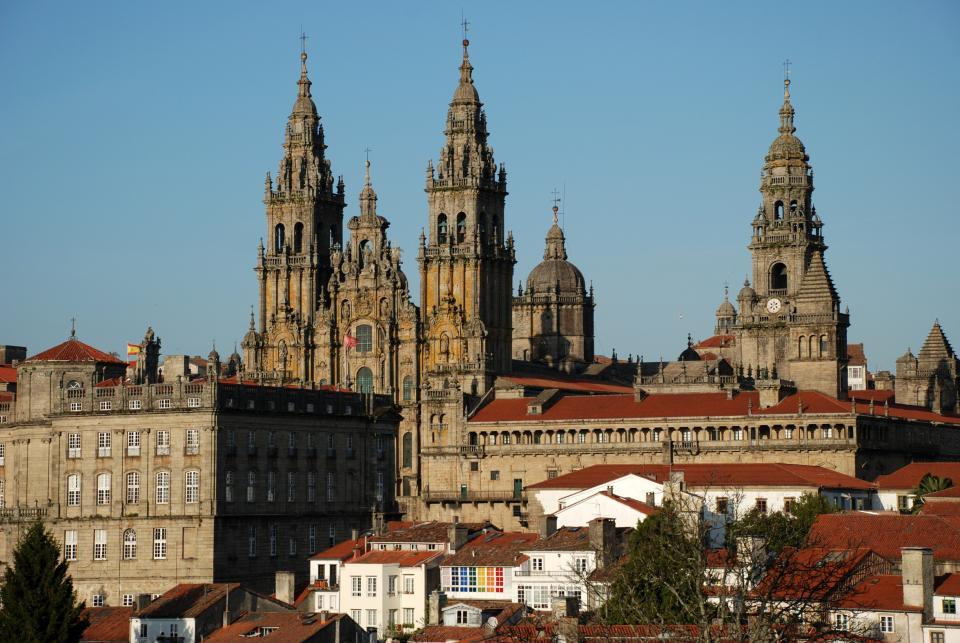 Santiago de Compostela, Camino Frances