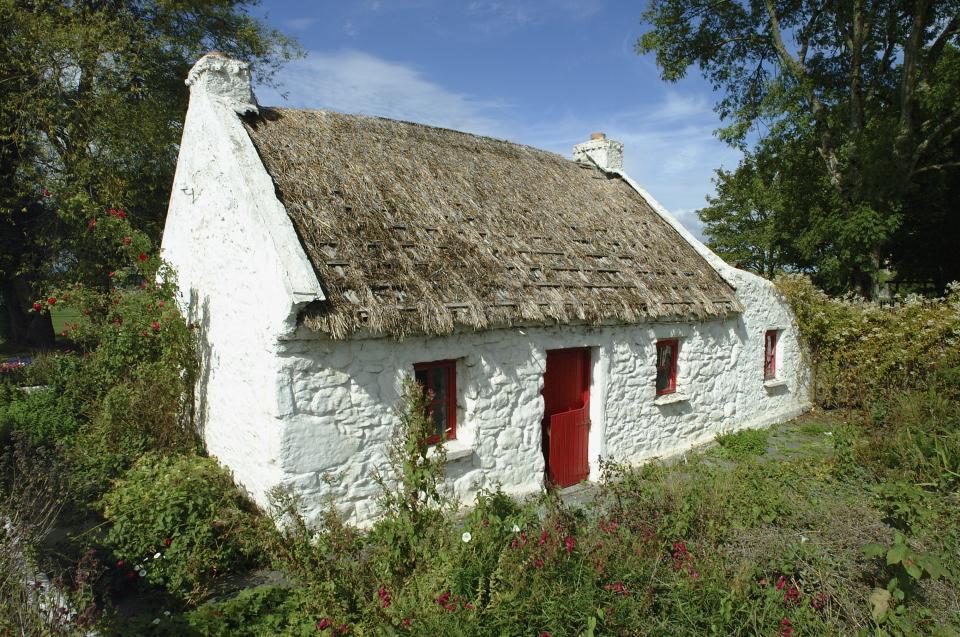 Traditonelles Irisches Haus