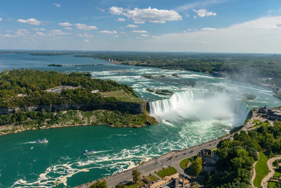 Niagara Falls, Wandern in Kanada