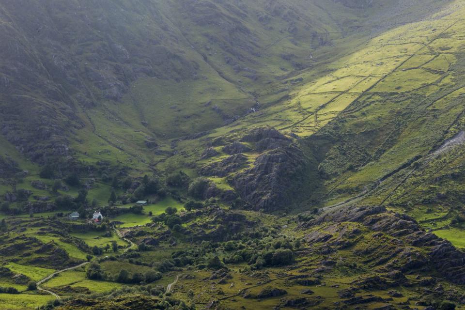 Wandern auf dem Beara Way Healy Pass