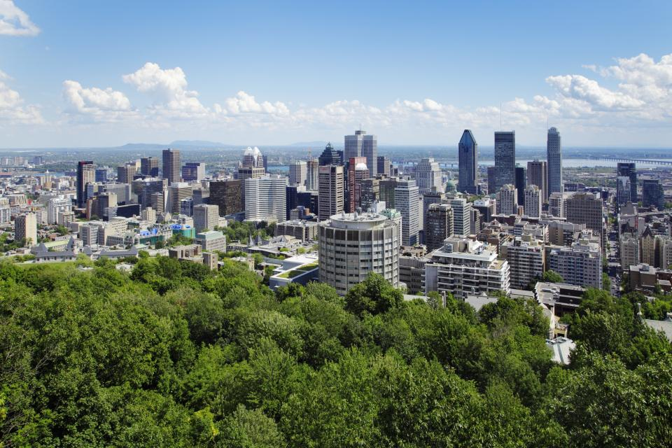 Wandern in Kanada, Montreal