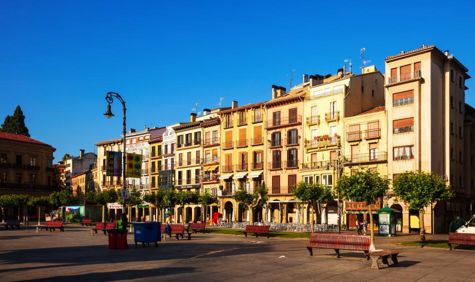 Pamplona, Pilgern auf dem Camino Frances