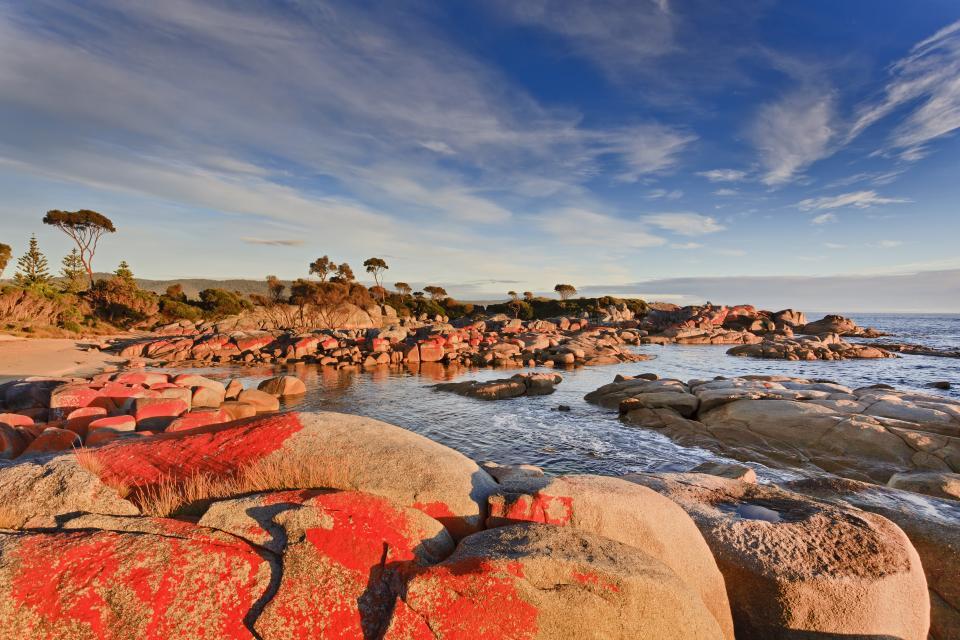 Tasmanien, Bay of fire