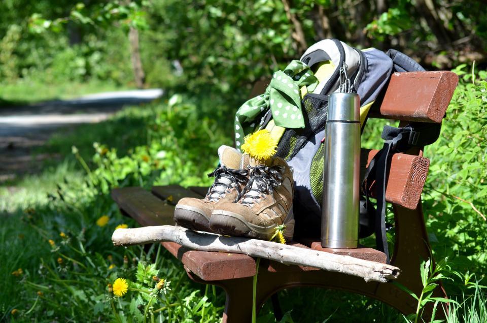 Wandern ohne Gepäck - Vorteile?