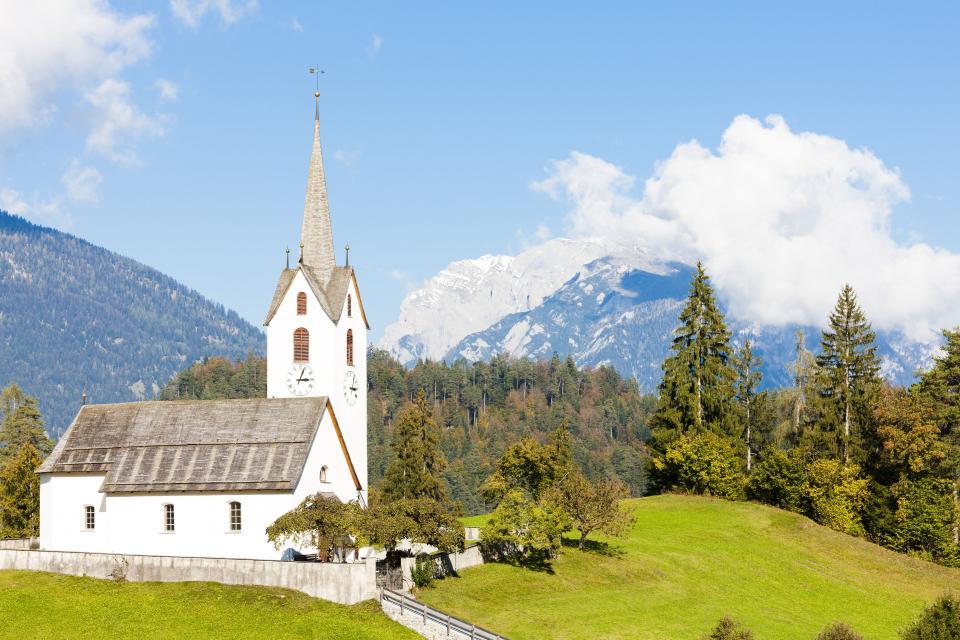 Wandern in der Schweiz - Kanton Graubünden