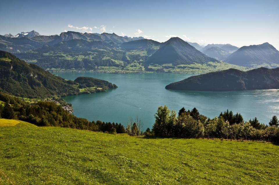 Wandern in der Schweiz - Vierwaldstätter See