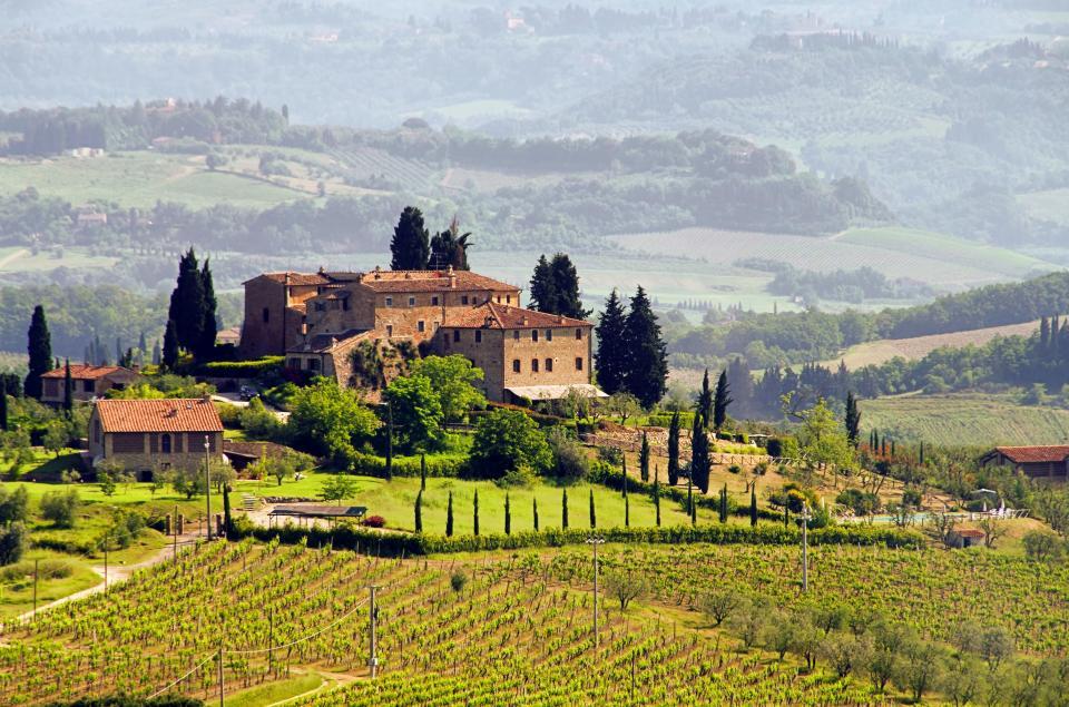 Wandern in der Toskana - Chianti-Region