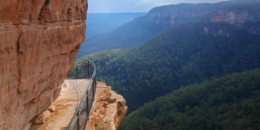 Blue Mountains, Wandern in Australien