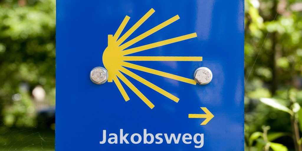 Jakobswege in Mittel- und Ostdeutschland