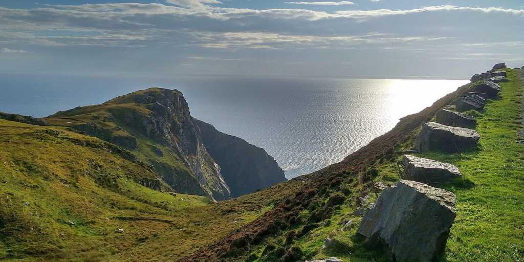 Wandern im Norden Irlands - zu Fuß unterwegs