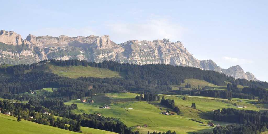 Wandern in der Ostschweiz -  entlang an der Via Alpina und im Appenzeller Land