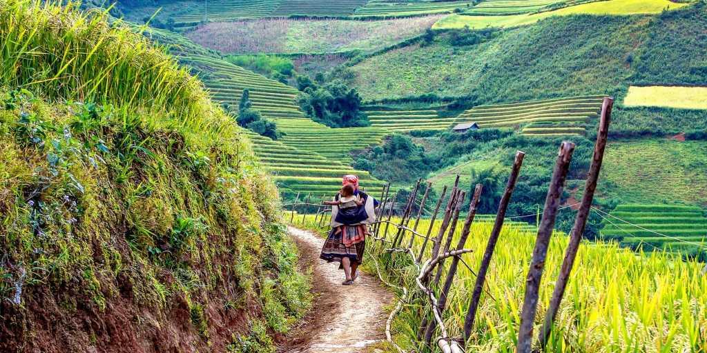 Wandern in Vietnam - weite Ebenen und bergiges Hinterland erleben