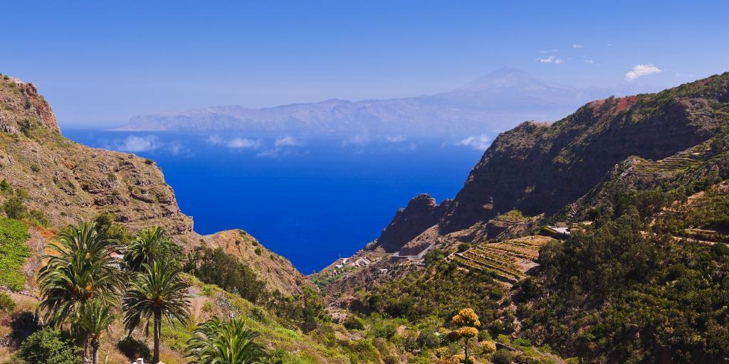 Wandern auf La Gomera - Trekking und Bergwandern im gut ausgebauten Wanderwegenetz