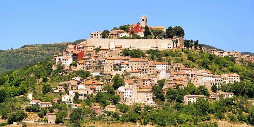 Wandern in der kroatischen Toskana