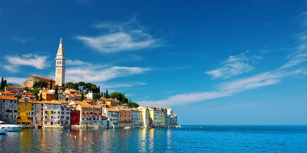 Wandern ohne Gepäck in Istrien