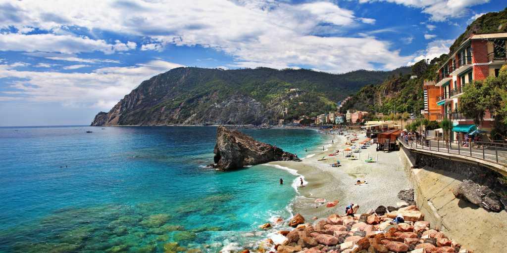 Wandern ohne Gepäck in Ligurien