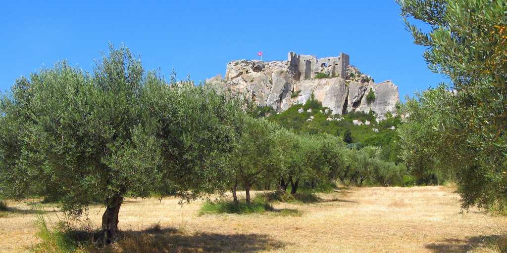 Wandern ohne Gepäck in der Provence