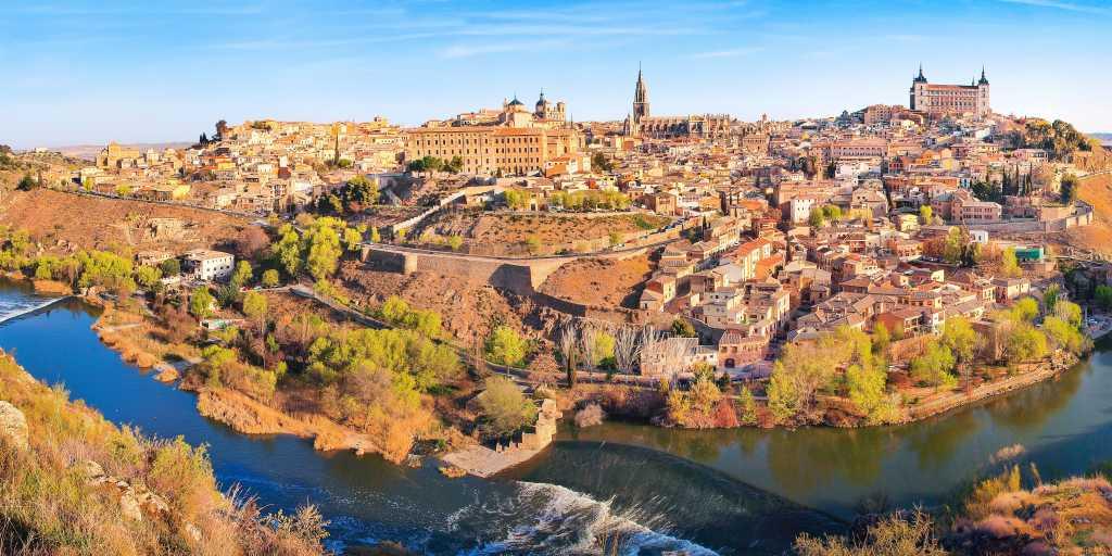 Wandern ohne Gepäck in Spanien