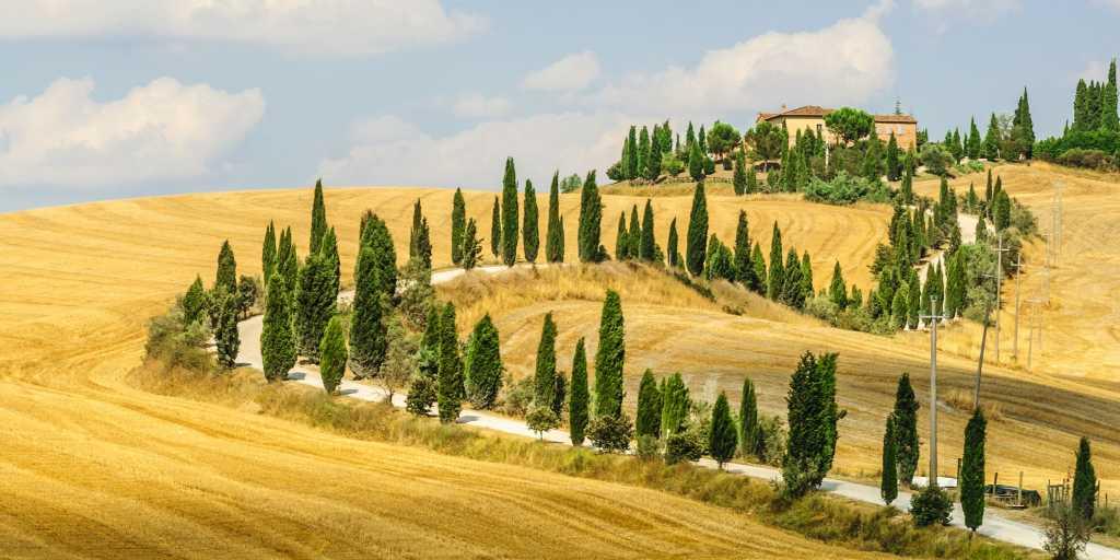 Wandern ohne Gepäck in der Toskana