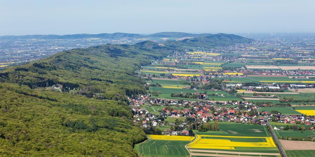 Wandern auf dem Mühlenwanderweg im Wiehengebirge