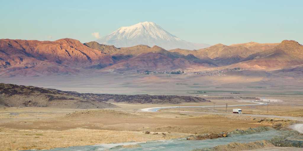 Wandern auf dem Ararat
