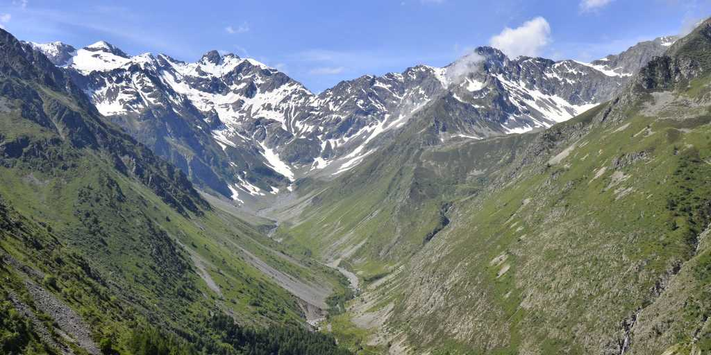 Wandern auf der Tour Mont Blanc