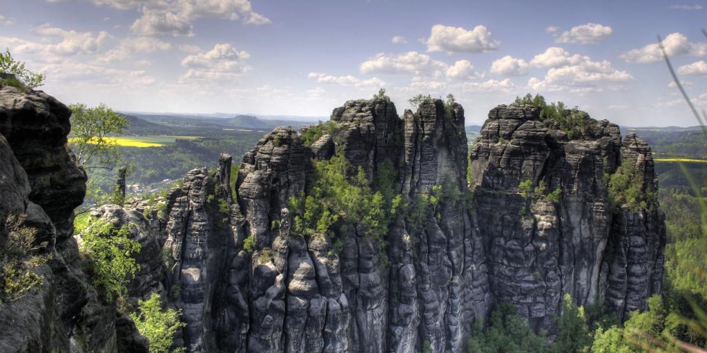 Wandern in der Sächsischen Schweiz - Affensteine