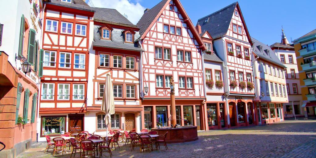 Wandern auf dem Rheinsteig: Mainz nach Koblenz