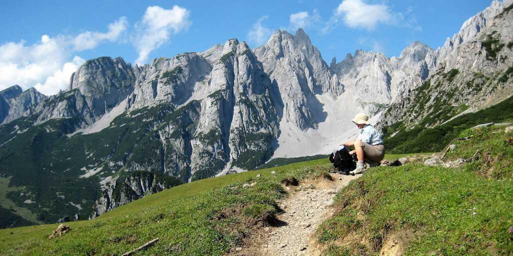Wandern auf dem Salzalpensteig - Teil II vom Königsee zum Dachstein