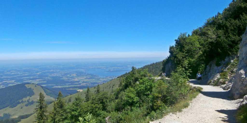 Wandern vom Königsee zum Chiemsee