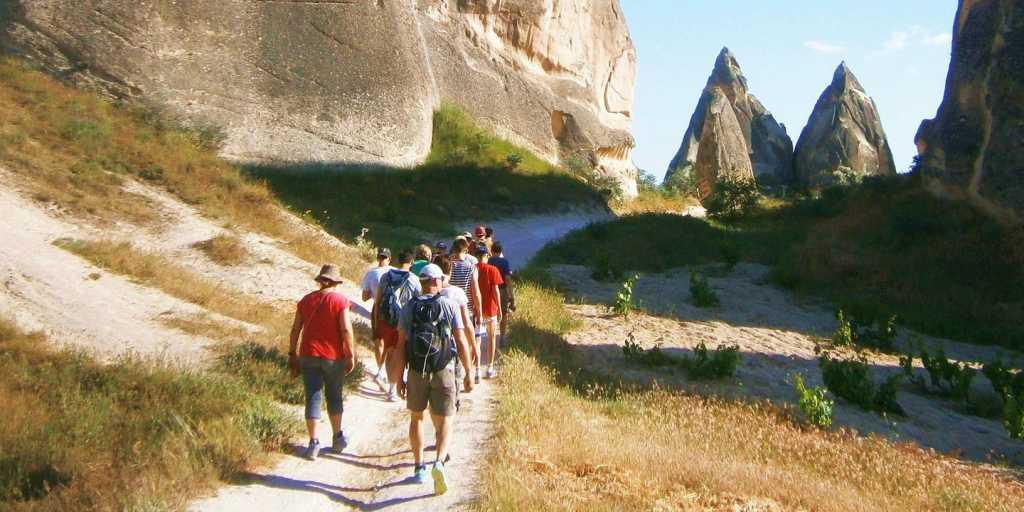 Trekkingreise durch die eindrucksvollen Felslandschaften der Zentraltürkei