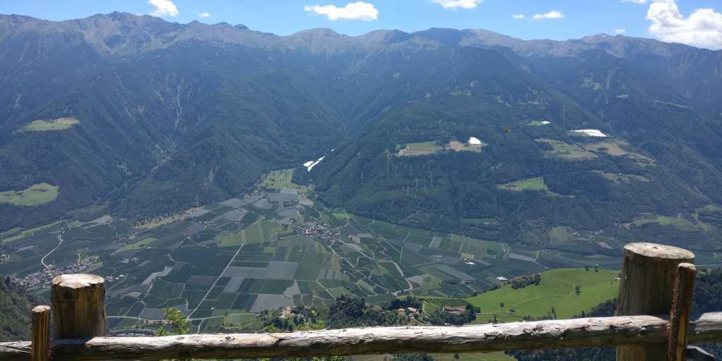 Trekking-Tour: Von Oberstdorf nach Meran über die Alpen