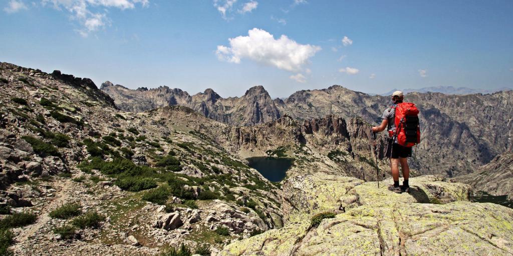 GR 20: von Süd nach Nord - Geführte Trekkingreise Frankreich