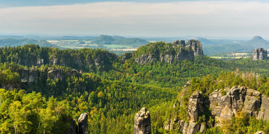 Sächsische Schweiz: Geführte Wanderung in der Sächsisch-Böhmischen Schweiz