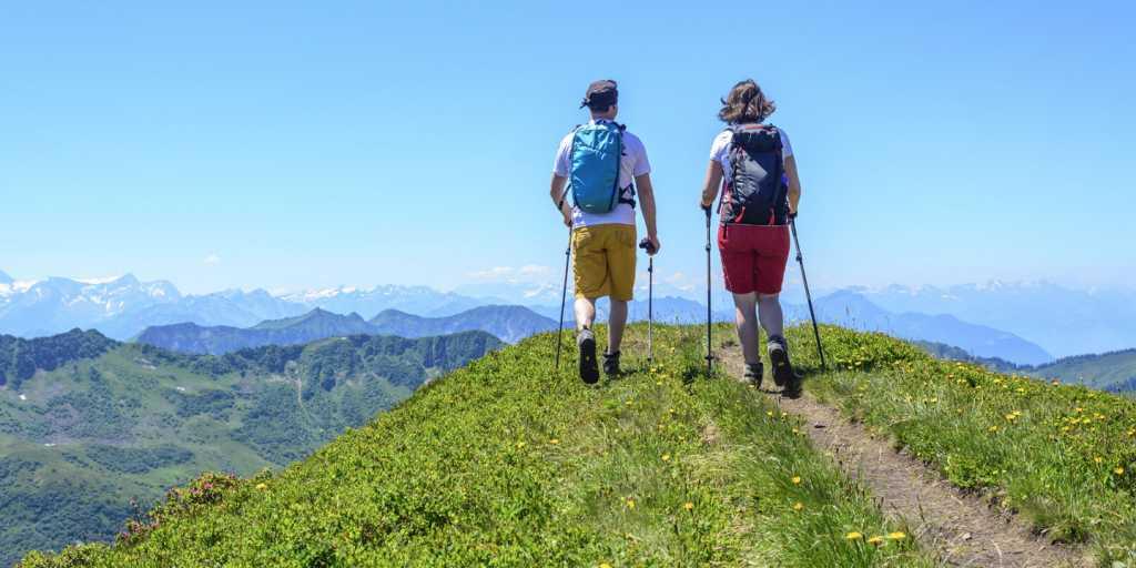 Wandern im Bregenzer Wald in Vorarlberg