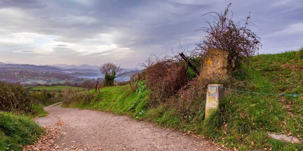 Camino Primitivo: Pilgerwandern - die letzten 118 km - über Friol nach Santiago