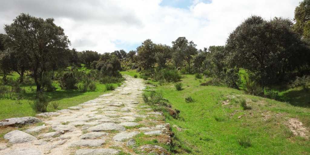 Wandern auf dem Spanischen Jakobsweg - Calzada romana von Sevilla nach Santiago