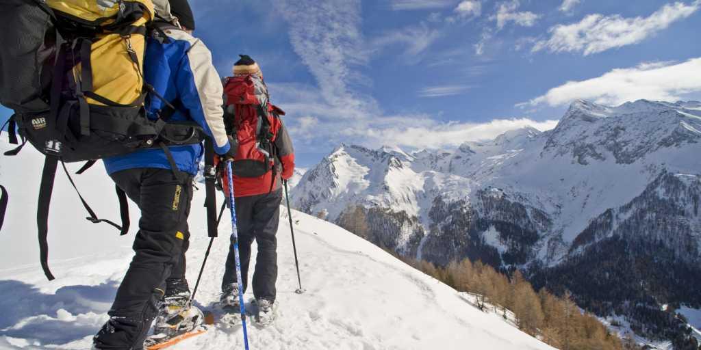 Winterwandern: Im Langlauf-Mekka der Dolomiten