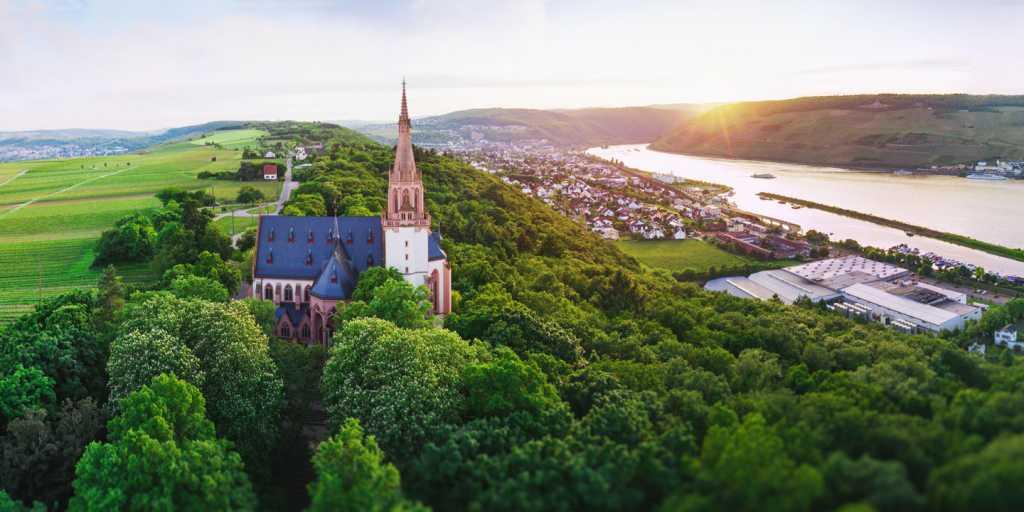 Weinwanderweg von Bingen am Rhein nach Kirn an der Nahe