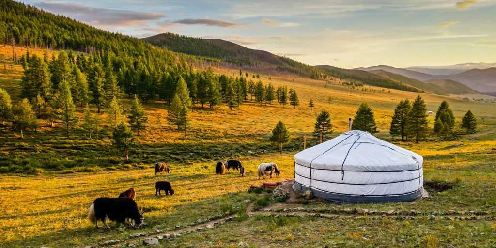 Unterwegs im Land des blauen Himmels - Geführte Gruppenwanderreise in der Mongolei