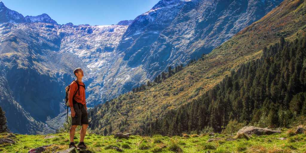 Alpenüberquerung: Individuell wandern vom Tegernsee nach Sterzing ohne Gepäck