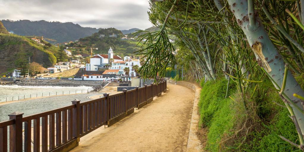 Wandern auf Madeira von Porto da Cruz nach Funchal