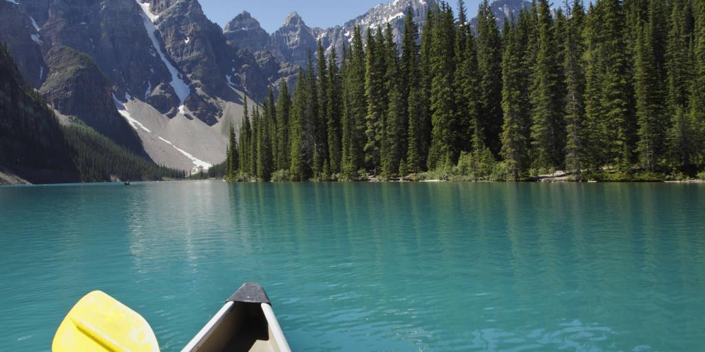 Kanada: Geführte Gruppenwanderreise Rocky Mountain Parks und Kanu Tour