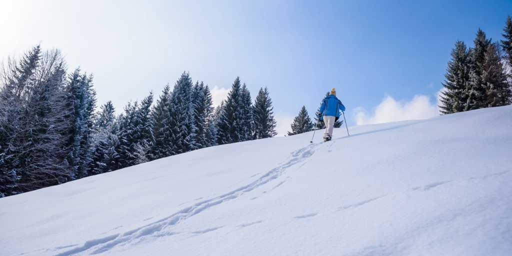 """Allgäu: Individuell wandern im Winter - """"Deutschlands höchster Winterspaß"""""""