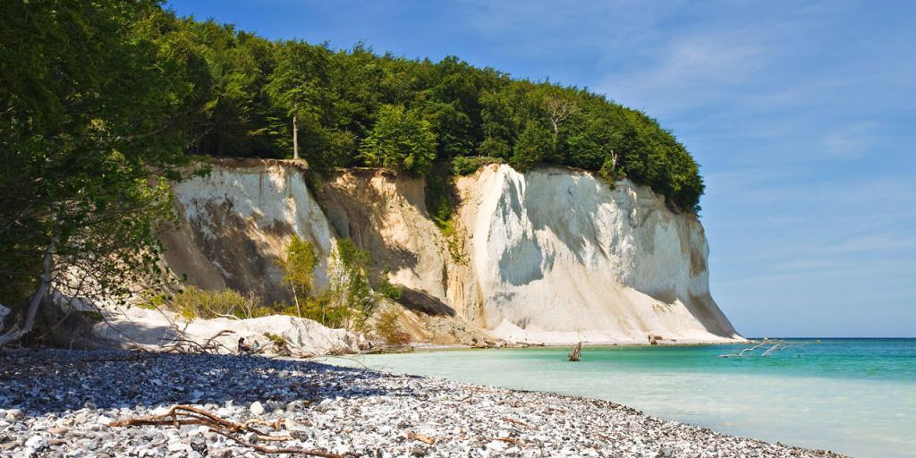 Wandern auf der Insel Rügen - Ostesee, Kreidefelsen und Seebäder
