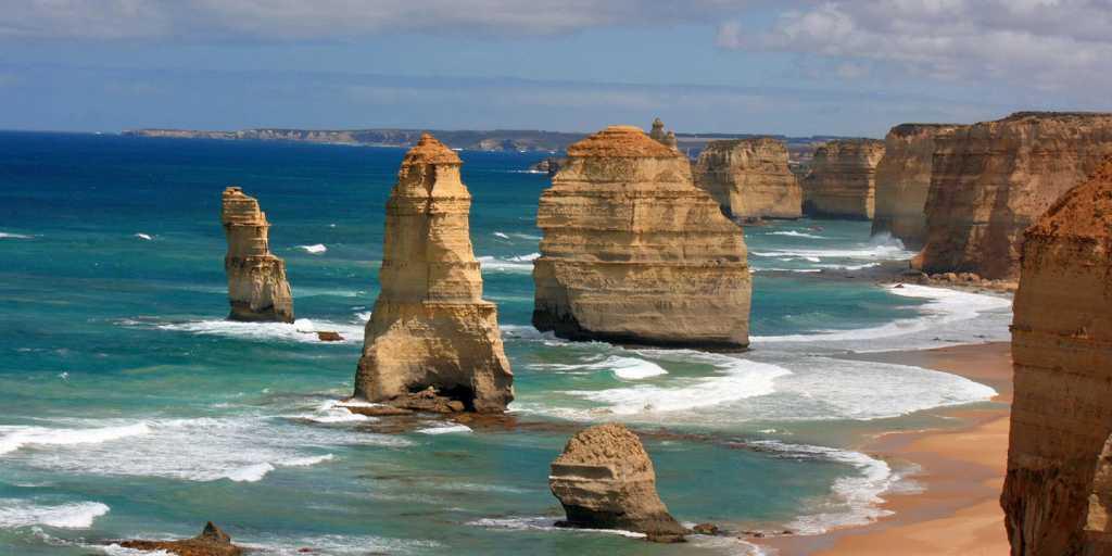 Wandern auf dem Twelve-Apostles-Walk in Australien