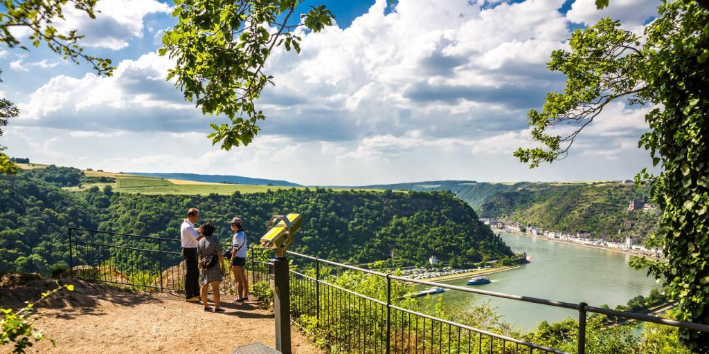 Wandern auf dem Rhein-Burgen-Weg in 9 Tagen