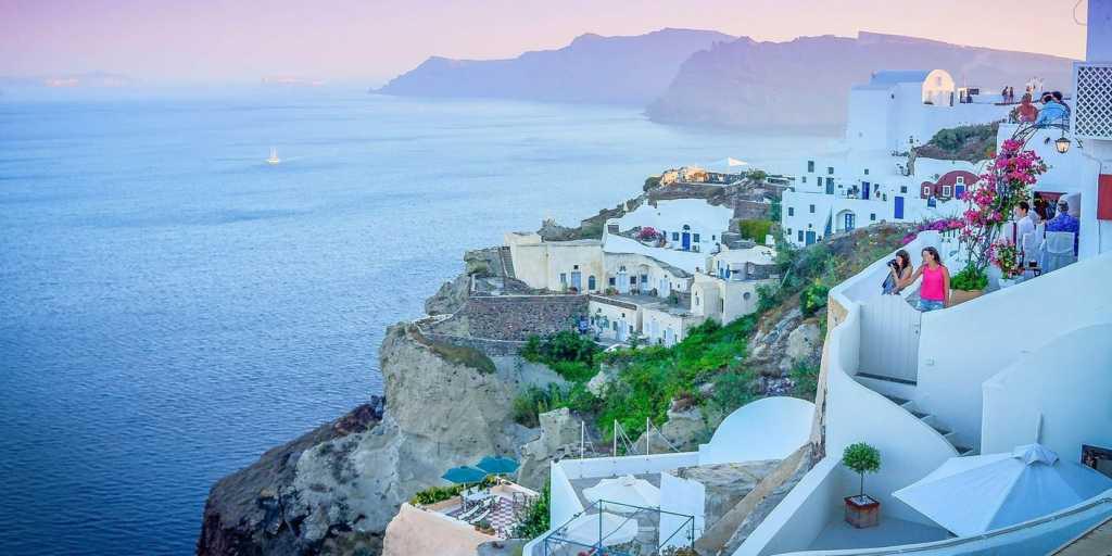 Wandern auf Santorini - Griechische Insel - Perle der Ägäis