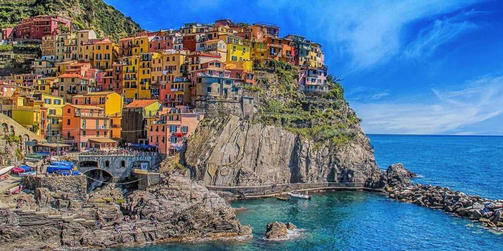 Wandern in Cinque Terre - Italien - Ligurien