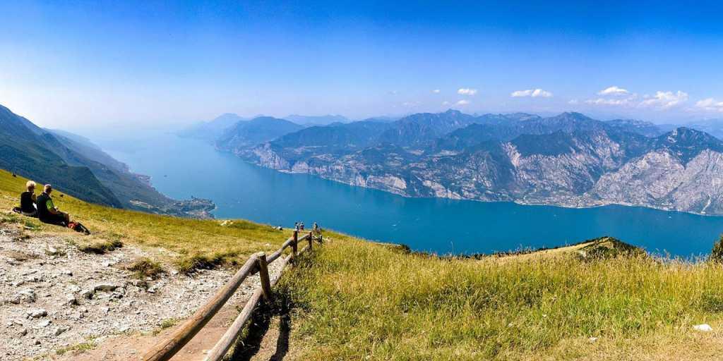 Wandern von Meran an den Gardasee - Italien